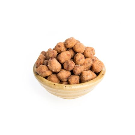 nuts or Peanuts with Crispy Coated on a background new Banque d'images
