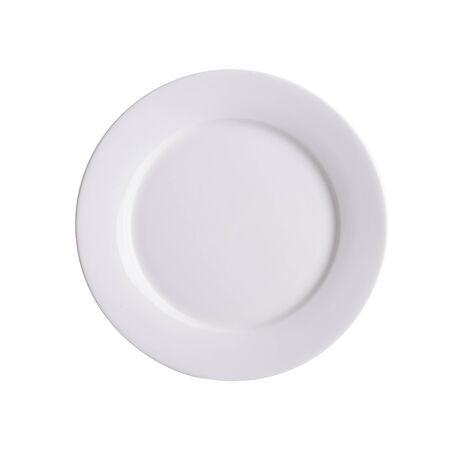 assiette ou assiette vide sur fond nouveau