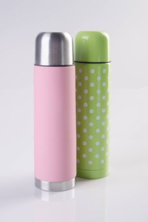 Thermo or Thermo flask on a background new 写真素材 - 137743696