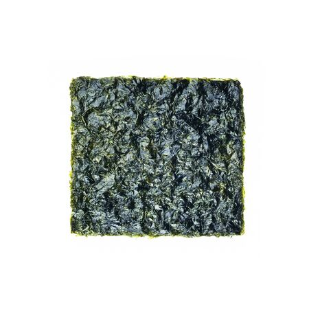 seaweed or seaweed snack on the background new