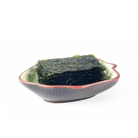 seaweed or seaweed snack on the background new Stock Photo