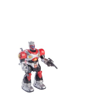 Toy or robot toys with concept on the background new