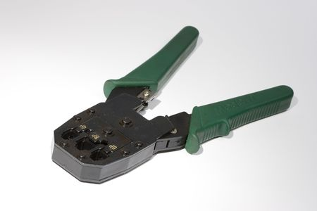 crimper: Photo of a Wire Crimper Stock Photo