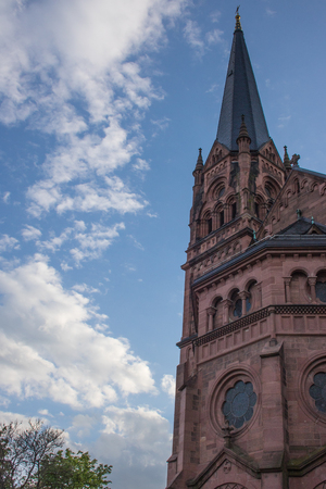St. John's Church in Freiburg Breisgau Germany