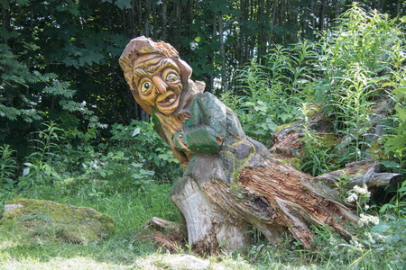 Wood carving in the Hotzenwald Reklamní fotografie