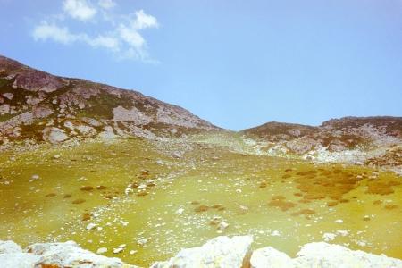 abkhazia: Western Caucasus Mountains in Abkhazia, year 1982