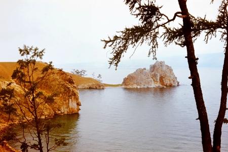 Western coast of lake baikal, Russia, Siberia Stock Photo - 17847465