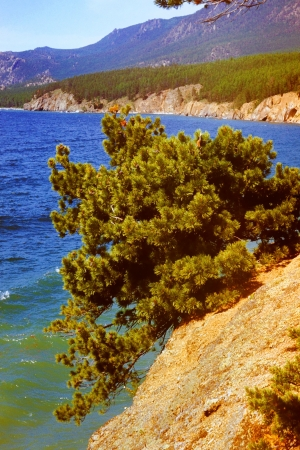 Western coast of lake baikal, Russia, Siberia Stock Photo - 17847484