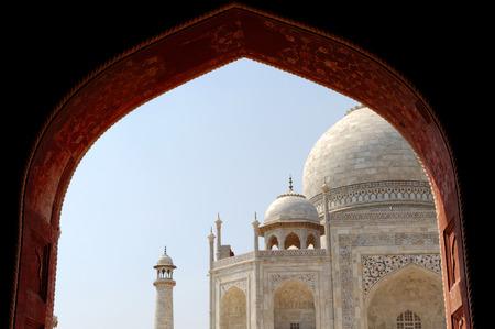 uttar pradesh: Taj  is a white marble mausoleum located in Agra, Uttar Pradesh, India