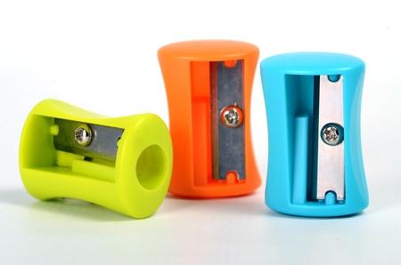 sharpeners: Three pencil sharpeners