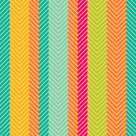 stripes: Retro abstract herring-bone seamless pattern