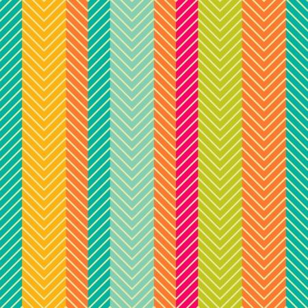 stripes: Retro abstract herring-bone seamless pattern