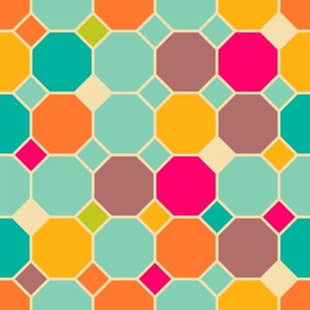 geometric patterns: Retro abstract seamless pattern