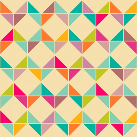 parallelogram: Abstract retro seamless geom�trico