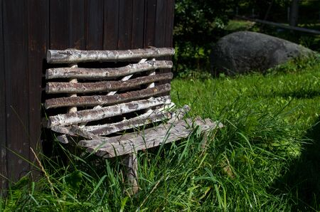 A dwarf bench is a long seat on which multiple dwarfs may sit at the same time. Reklamní fotografie