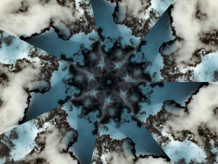 Storm Clouds Swirl Banco de Imagens