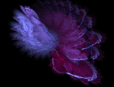 estola: Purple rob�  Foto de archivo