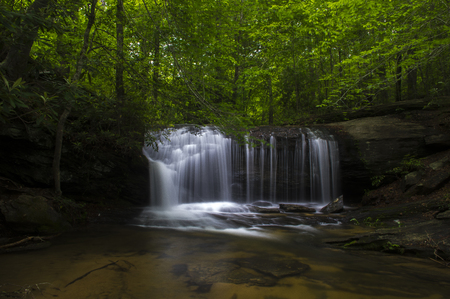 Wildcat Falls at Wildcat Wayside Park Greenville South Carolina Along Cherokee Scenic Highway