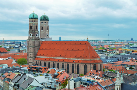 The Frauenkirche (Cathedral of Our Dear Lady), church in the Bavarian, Munich