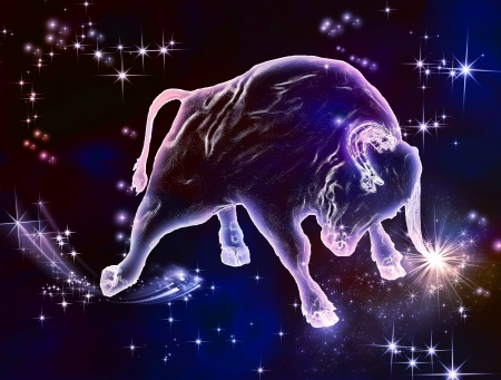 強力な美しさ、美しい強制的には、何のおうし座のサインである 4 月と 5 月は雄牛を楽しむのヶ月この驚くべき占星術動物