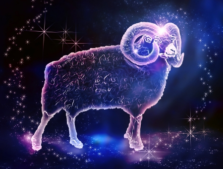 sheep sign: Aries is a fire sign zodiac;  Those who were born in March or April are energetic and motivated people