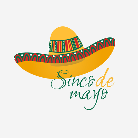illustration sombrero hat