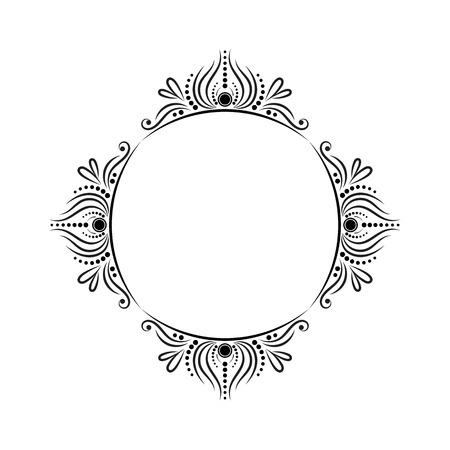 Vintage round classic stylish elegant contoured frame