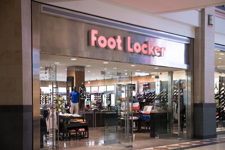 73a8819ab5 Foot Locker Stock Photos And Images - 123RF