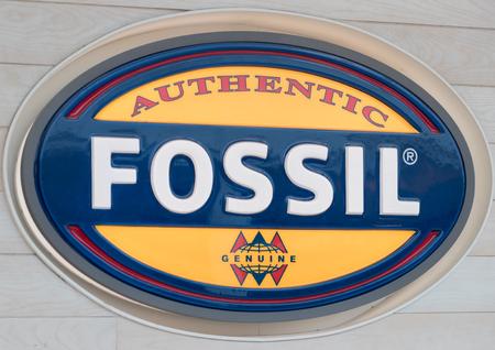 Philadelphia, Pennsylvania, May 19 2018: the Fossil clothes Store in the Philadelphia