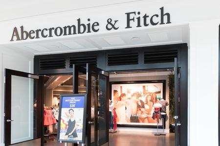 Philadelphia, Pennsylvania, May 19 2018: Abercrombie & Fitch Clothing Store in Philadelphia I