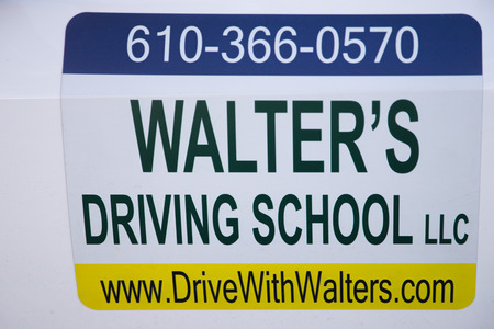 Philadelphia, Pennsylvania, June 19, 2018 Driving school contact information Editorial