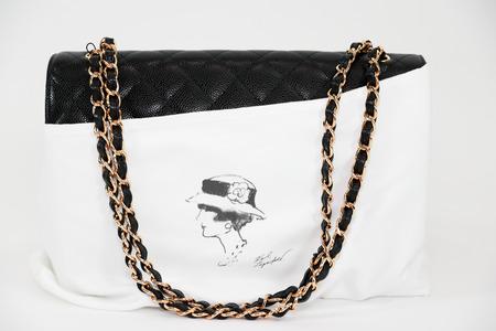 763b6b58a37f Philadelphia, Pennsylvania, USA, August 10, 2018: Photo of black Chanel  handbag