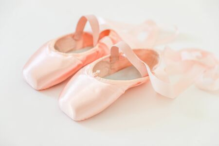 Ballet pointe shoes - Image 写真素材 - 133611337