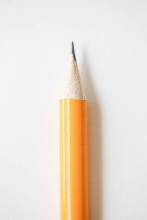 Pen point close-up on white background - Image Reklamní fotografie