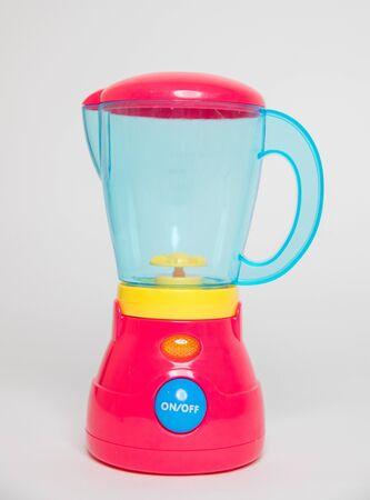 Blender red toy for kids-Image 写真素材