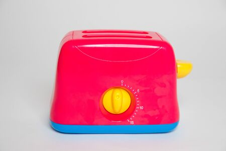 Childs toy plastic food toaster-Image