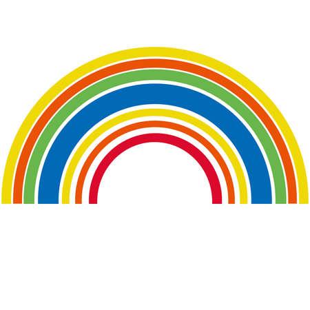rainbow: arco-
