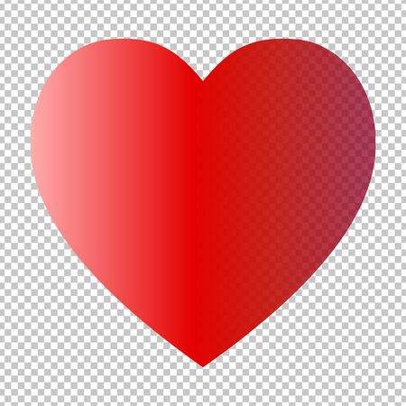 Valentine's Day. Colorful,multicolored hearts. Vector illustration. Abstract. Love Vetores