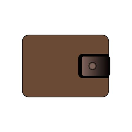 Wallet vector icon. filled flat sign for mobile concept and web design. Purse simple solid icon. Symbol, logo illustration. Pixel perfect vector graphics. Vector illustration Illusztráció