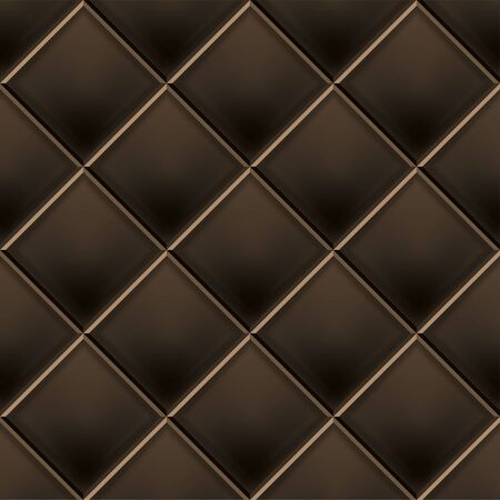 Seamless luxury pattern and background. Genuine Leather. Vector illustration