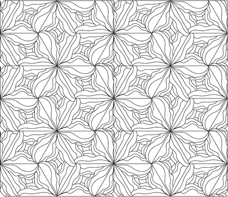 Abstract seamless pattern.Hand drawn. Vector illustration, EPS 10