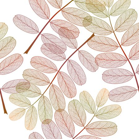 Seamless pattern with leaves. Stok Fotoğraf - 148959316