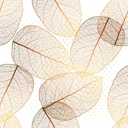 Seamless pattern with leaves. Stok Fotoğraf - 148959471
