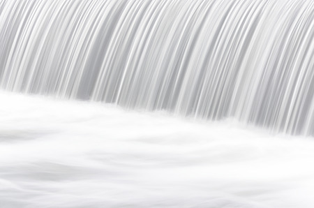 slow: Waterfall shot photo by slow speed shutter Stock Photo