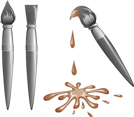 graffiti brown: soluci�n crom�tica ronda brochas y cepillos planas