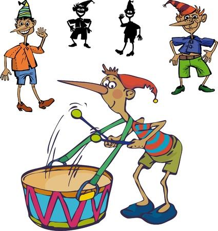 pinocchio: options for image mischievous Pinocchio