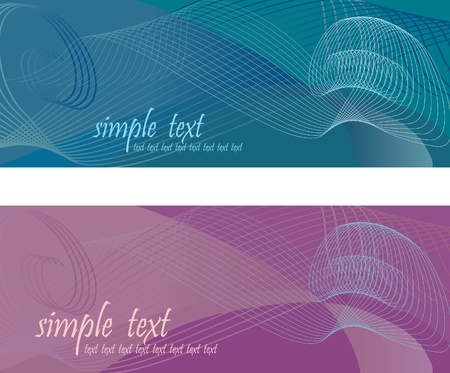 abstract background based on the spirals, lines and gradients. Vector