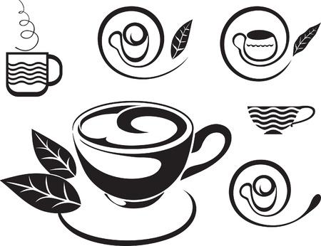 bulion: Filiżanka herbaty. Znak