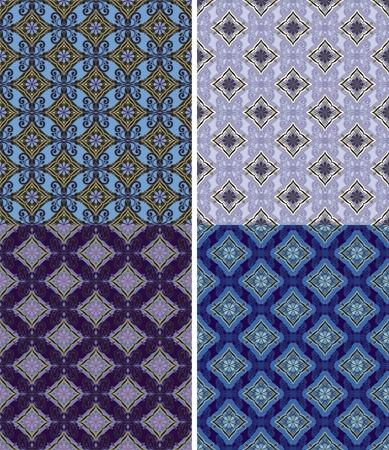 acolchado: Opciones para el patr�n ornamental sin problemas.