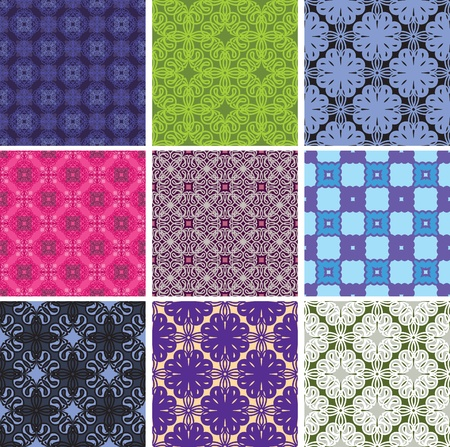 padding: vector seamless pattern of lace. Decorative ornaments. options.